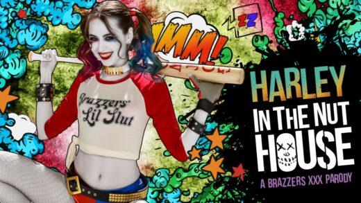 BrazzersExxtra - Riley Reid - Harley In The Nuthouse - XXX Parody