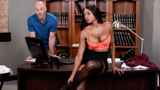 DirtyMasseur - Diamond Jackson - Oily Office
