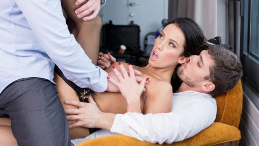 DorcelClub - Megan Rain - Fucked By 2 Guys