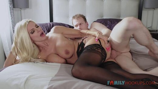 [FamilyHookups] Brittany Andrews (Big tit blonde milf Brittany Andrews gets railed by her stepson during the pandemic / 01.22.2021)