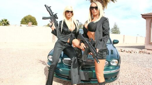 PornstarsLikeItBig - Nikki Benz And Puma Swede - Babes In Black