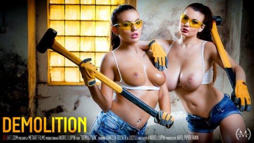 SexArt - Lucy Li And Vanessa Decker - Demolition