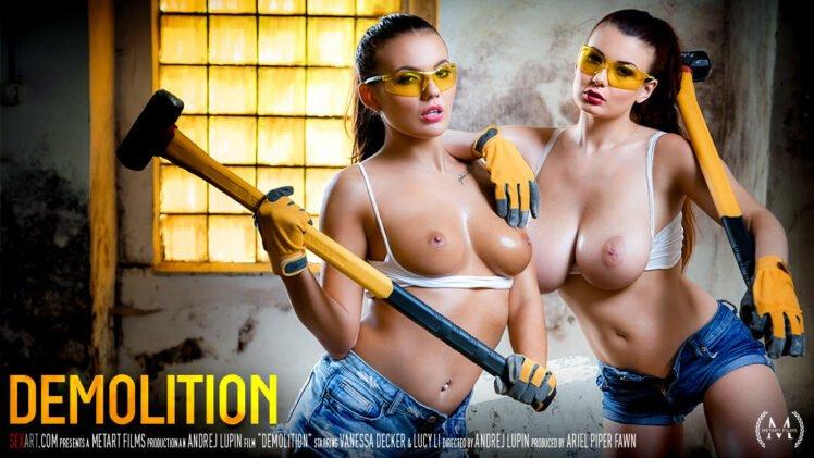 SexArt – Lucy Li And Vanessa Decker – Demolition