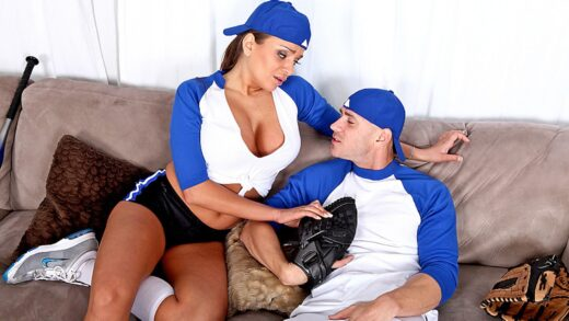 BigTitsInSports - Nika Noire - Baseballs in your Mouth