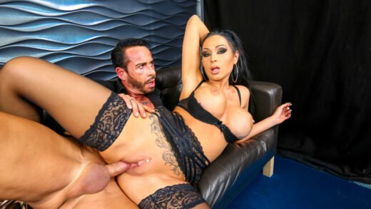 BumsBuero - Jacky Lawless - Busty German Babe Jacky Lawless Gets Cum On Tits From Boss At The Office