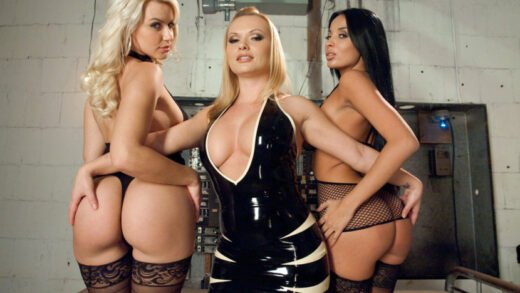 EverythingButt - Katja Kassin, Anissa Kate And Anikka Albrite - Beautiful Anal Sluts