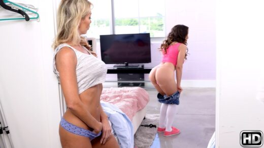 MomsLickTeens - Tylo Duran And Mila Marx - Spring Cleaning