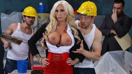 BigTitsAtWork - Lolly Ink - Tarps Tools and Titties
