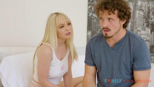 [FamilyHookups] Lilly Bell (Lilly Bell fucks her stepbrother after he catches her masturbating / 03.05.2021)