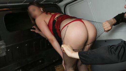 ForgiveMeFather - Prostitute With Big Tits Fucked Raw In Van