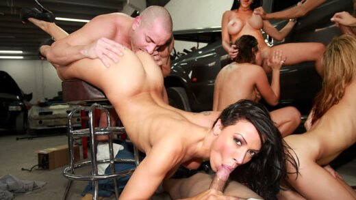 FuckTeamFive - Rachel Starr, Diamond Kitty, Alexis Fawx And Anastasia Morna - The All Star Fuck Team Five