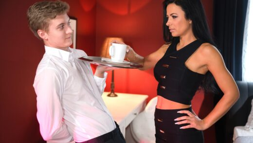 MomXXX - Shalina Devine - Lonely MILF room service special