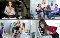 MylfSelects – Dana Dearmond, Bridgette B, Adrian Hush And Ariella Ferrera – Naughty Company Bonus