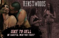 TeensInTheWoods – Sophia Lucille – Hike To Hell E01