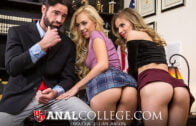 AnalCollege – Jillian Janson And Lyra Law – Blackmail our assholes
