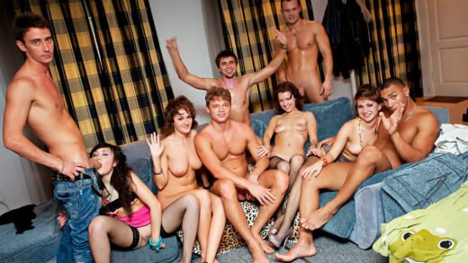 CollegeFuckParties - Totally Insane Group Orgy Movie Ep 2