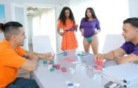 DaughterSwap – Demi Sutra And Julz Gotti – Strip Poker And Stroke Her