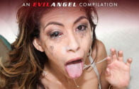 EvilAngel – Violet Starr – Oil-Splashed Anal Bash