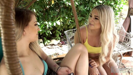 FilthyTaboo - Rharri Rhound And Brin Summers - Trying Lesbian Sex with My Step-Sister