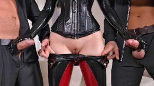 HandsOnHardcore – Alyssia Kent – MMF Colleagues Get Kinky, Perverzija.com
