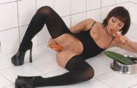 HouseOfTaboo – Monika – Nasty masturbation with vegetables
