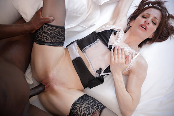 Hustler – Ava Courcelles – French Maid to Hire, Perverzija.com