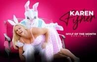 MylfOfTheMonth – Karen Fisher – Easter Humping