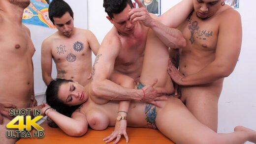 SexMex - Pamela Rios - Gang Bang Anal