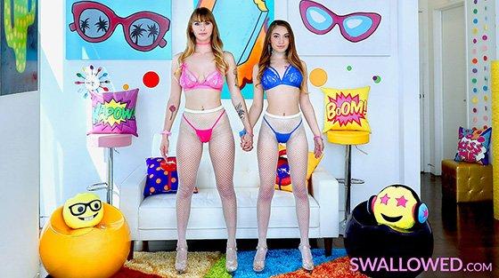 Swallowed – Sera Ryder And Angel Youngs – Certified Dick Suckers, Perverzija.com