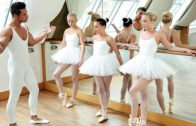 TeamSkeetXClubSweethearts – Cayla Lyons, Vinna Reed And Evelyn Dellai – Ballet Rehearsal