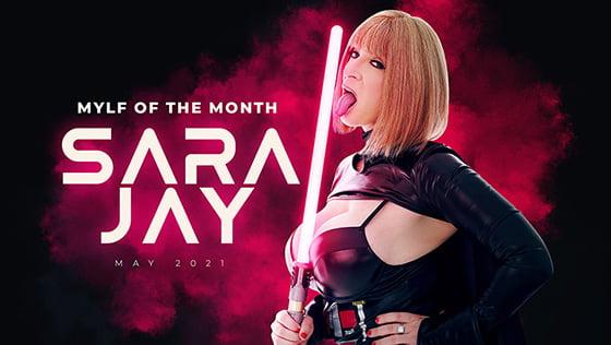MylfOfTheMonth – Sara Jay – Baddest Mylf In The Galaxy, Perverzija.com