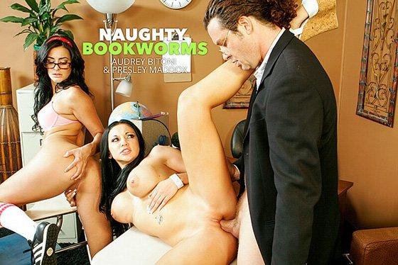 NaughtyBookworms – Audrey Bitoni And Presley Maddox 26542, Perverzija.com