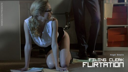 OfficeObsession - Angel Smalls - Filing Clerk Flirtation