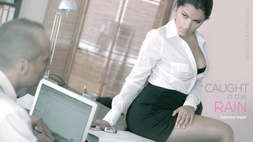 OfficeObsession - Valentina Nappi - Caught in the Rain
