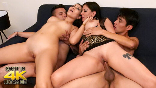 SexMex - Angie Miller And Teresa Ferrer - This Will Never Happen To You