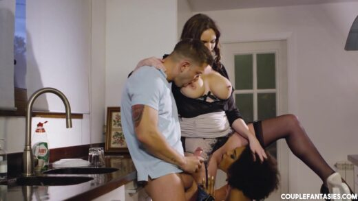 CoupleFantasies - Luna Corazon And Marie Clarence - B And B