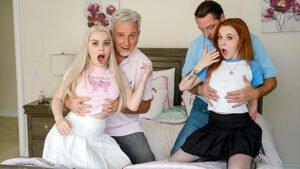 PervTherapy – Haley Spades And Penny Barber – Stepdaddy's Approval, Perverzija.com