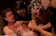 DivineBitches – Bobbi Starr, Aiden Starr And Nika Noire – La Semence Des Vampires
