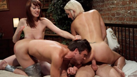 DivineBitches - Dylan Ryan, Maitresse Madeline Marlowe, Christian Wilde and Lance Hart - Please Fuck My Wife While My Prostate Is Milked!