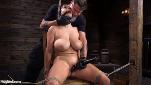 Hogtied - Angela White - Complete Submission To The Pope