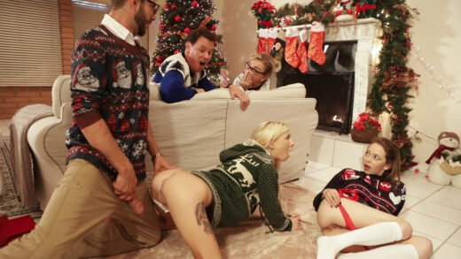 MyFamilyPies - Angel Smalls And Kenzie Reeves - Christmas Family Sex