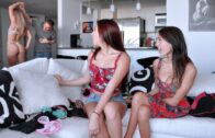 RealSlutParty – Janice Griffith, Kiara Knight And Belle Sparkles – Sexy Send-Off