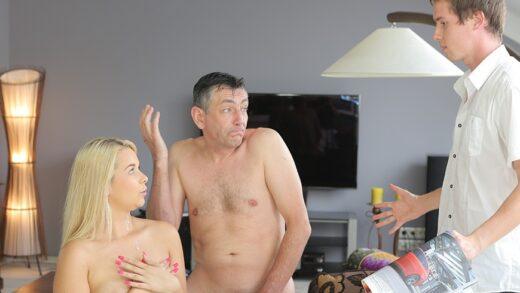 Daddy4K E01 Nikki Dream - Sleepy guy missed how his father fucks his girlfriend
