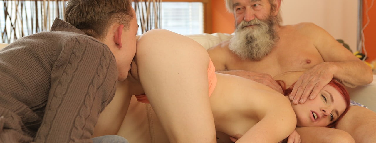 Daddy4K E04 Vanessa Shelby – Unexpected experience with an older gentleman, Perverzija.com