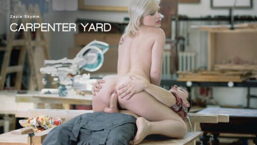 ElegantAnal - Zazie Skymm - Carpenter Yard