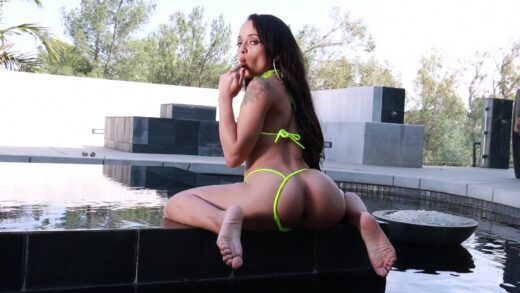 ElegantAngel - Holly Hendrix Gets Double Dicked In Her Vag & Ass From Hardcore Gangbang