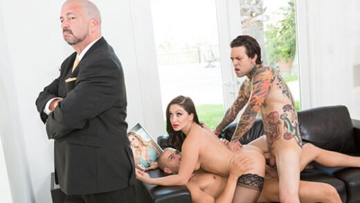 PrettyDirty - Lea Lexis - The DP Brothers