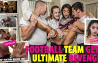 ShamedSluts – Maya Bijou – Cheerleader Gets Tagged Teamed By Her Cuckold BF And His Friends