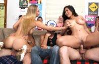 DormInvasion – Rachel Starr, Jessica Bangkok, Luna Star And Natalia Starr – Fucking Porn-Stars At A Dorm Party