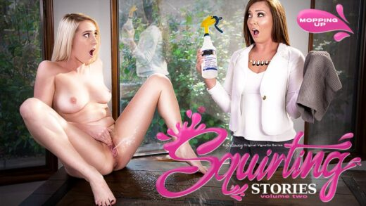 GirlsWay - Cadence Lux And Maddy O'Reilly - Squirting Stories Volume Two Mopping Up